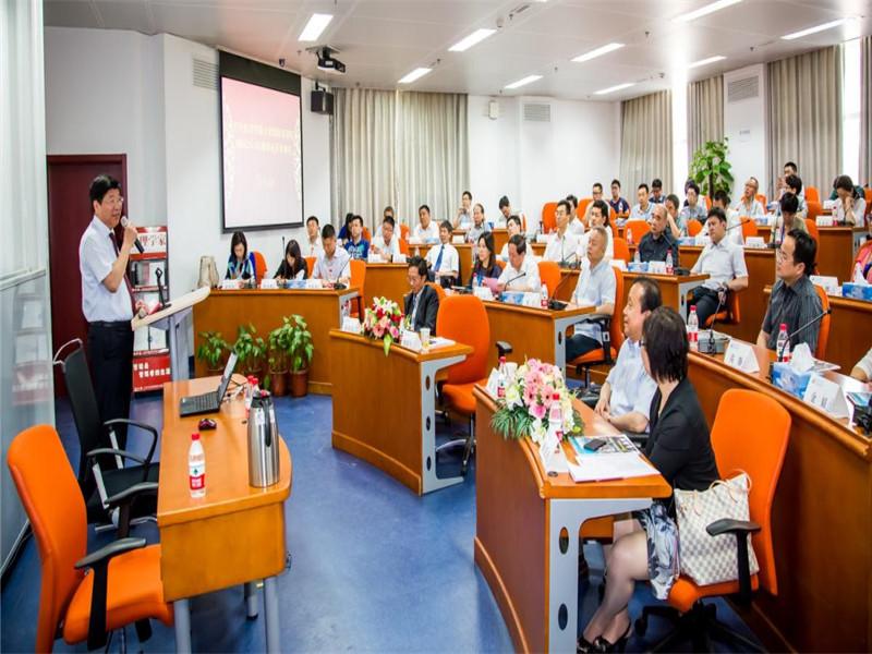 对外经济贸易大学在职研究生EMBA开学典礼图